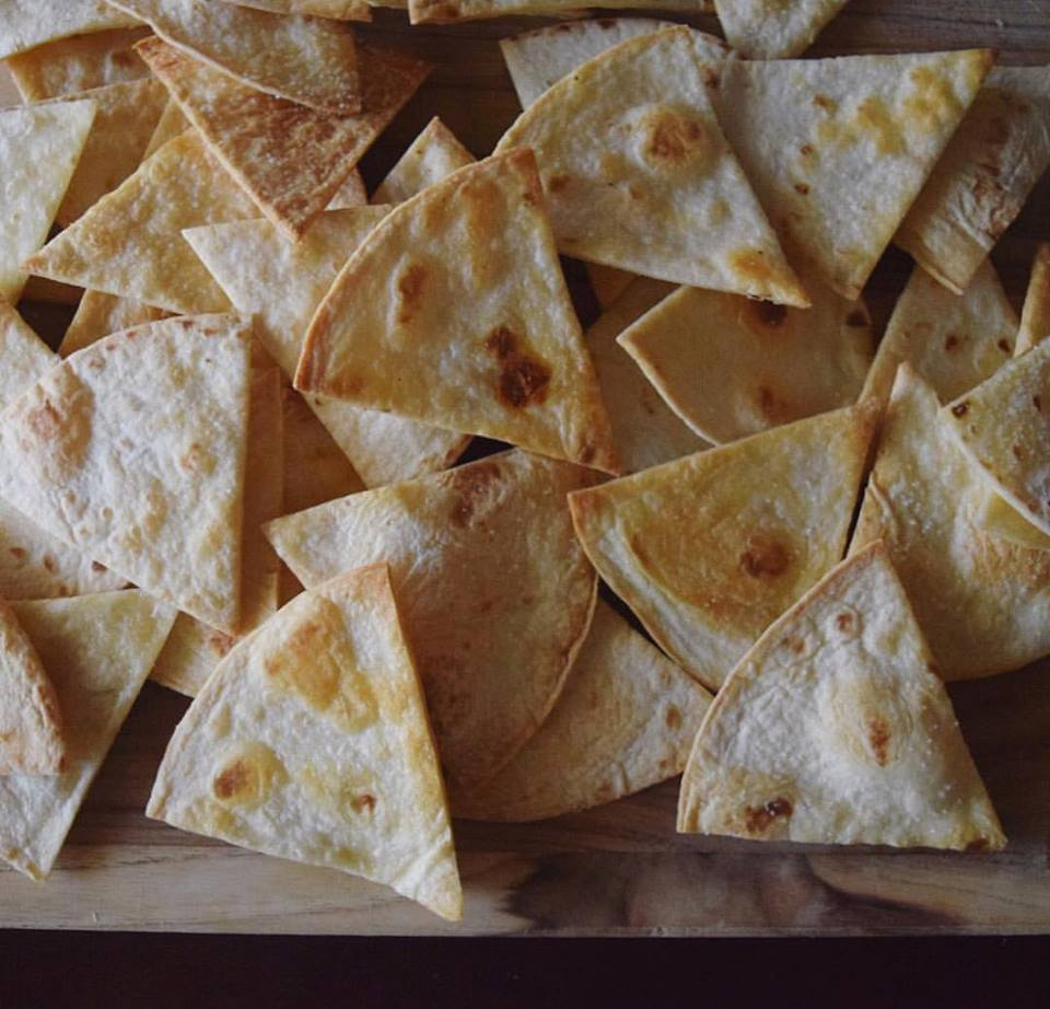 coming soon: tortilla chips -