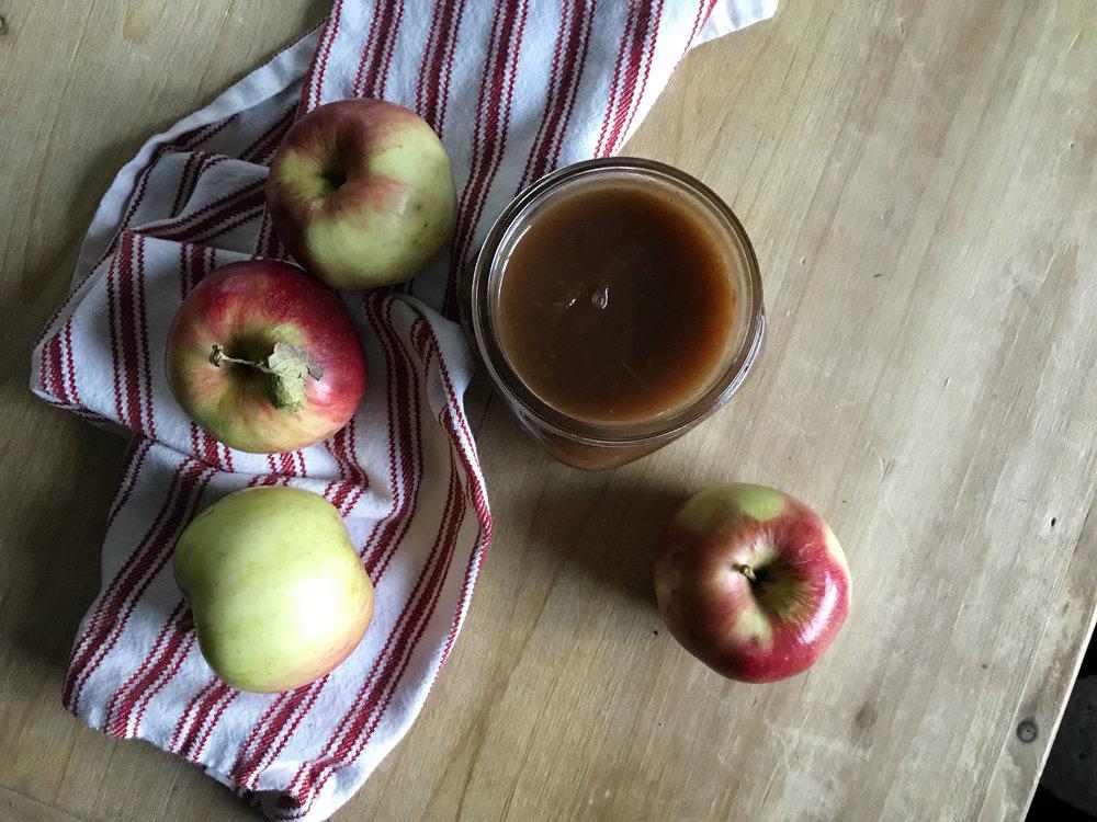 apple butter -