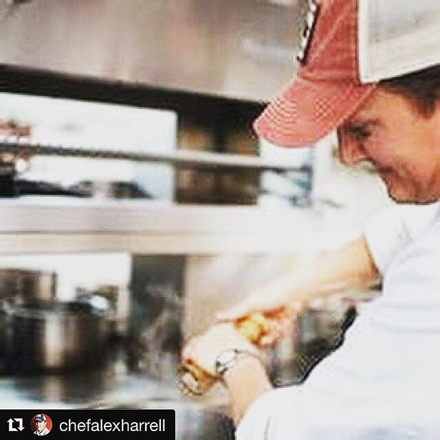 "#Repost @chefalexharrell with @get_repost ・・・ A huge thanks to @letseatyall for helping us tell our story!  #Repost @letseatyall with @get_repost ・・・ Is there a restaurant that is now closed but you still dream about visiting? 🍽 🍽 We can name a few. And we can name one that doesn't quite exist yet but we'll be counting down the days until we can visit it. Summer is a great time for transitions and we recently sat down with @chefalexharrell to talk about the closing of @angeline_nola and his big move in the Big Easy. Visit our online magazine for the full story. Link in bio. 🍽 🍽 You can also visit with @chefalexharrell for yourself on July 12th at the @fishersobm Southern Grace Dinner. He will be joined by all the ""Alabama Boys"" @robmcdaniel1 @davidbancroft @0709robby @adamhevans 🍽 This will be a dinner on the Alabama Coast you don't want to miss. Visit @fishersobm profile for more info. . . . 📷 @southcitypr  #eatyall #igfood #instafood #buzzfeast #foodstagram #igfood #huffposttaste #chef #chefstalk #truecooks #southern #farming #restaurantlife #freshfood #farmtotable #knowyourfarmer #makers #artisan #handmade  #farmersmarket #farmtofork #eatfresh #forkyeah #eatwell"