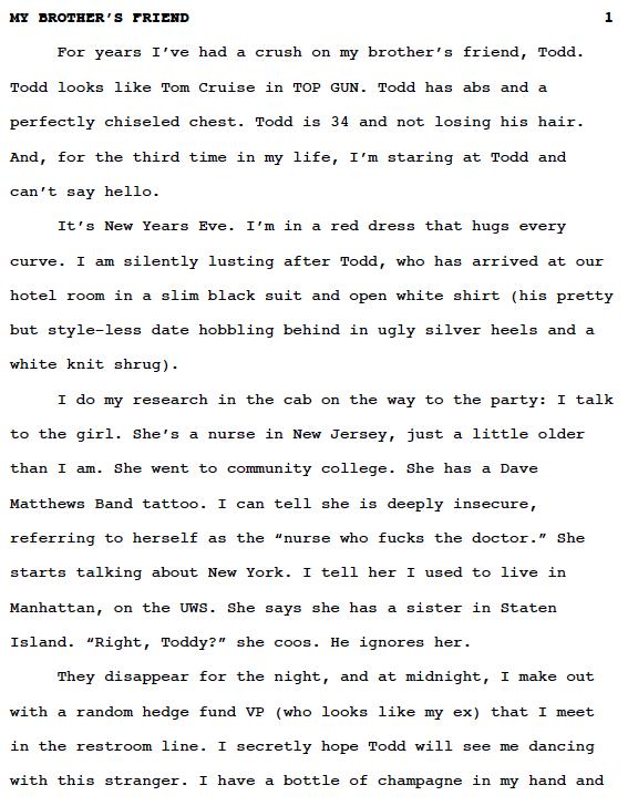 Essay of friend