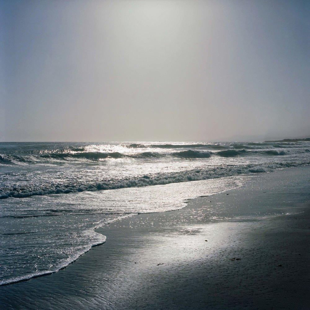 PACIFIC OCEAN.  PACIFIC COAST HWY, CA.