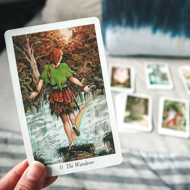 The Fool in tarot always reminds me of new beginnings and leaping into the unknown. A new year always brings this fresh energy to start a new journey or to leap into something we've always wanted to do. I noticed lately that old themes from 2012-2013 are coming back again into my life. Perhaps as unfinished business, a second chance, or that 'right now' may be better timing than the first instance. I wonder if this isn't just me and if you're feeling it too? Have you got something you had put on ice a few years ago that you're thinking of revisiting this year? . #tarotcards #tarotcard #tarotreadersofinstagram #tarotreader #tarotcommunity