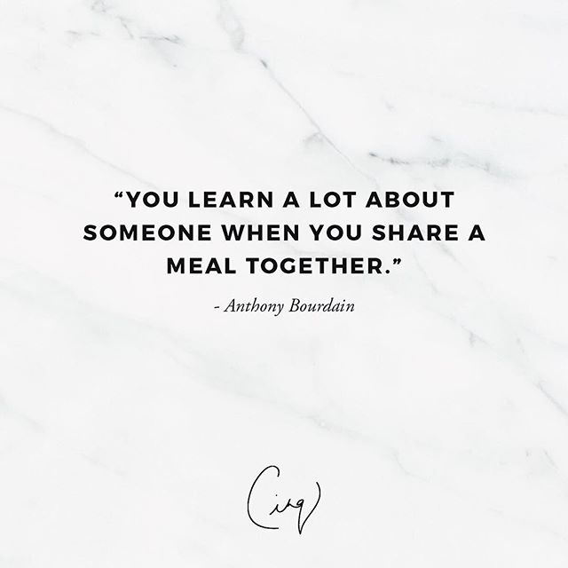 Food has a beautiful way of bringing people together. Don't just eat, share a meal. Thank you for inspiring us & for bringing the world into our homes. #anthonybourdain #qotd . . . . #cinq #cinqfoods #cinqfoodscatering #toronto #torontofood #torontoeats #tofood #foodto #foodtoronto #eventcatering #eventcaterers #torontocaterers #catererstoronto #cateringto #cateringtoronto #foodieto #tofoodie #torontofoodie #instafood #blogto