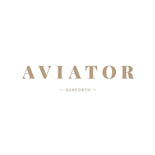 We're so excited for the opening of @aviatordanforth! Make sure to follow along 😊