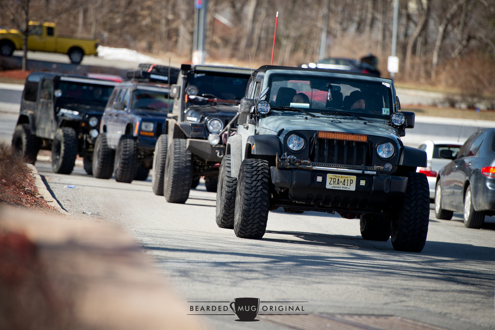 Although it seems these Jeeps were better suited where there were no roads, they were just as welcome as the next road-going racecar.