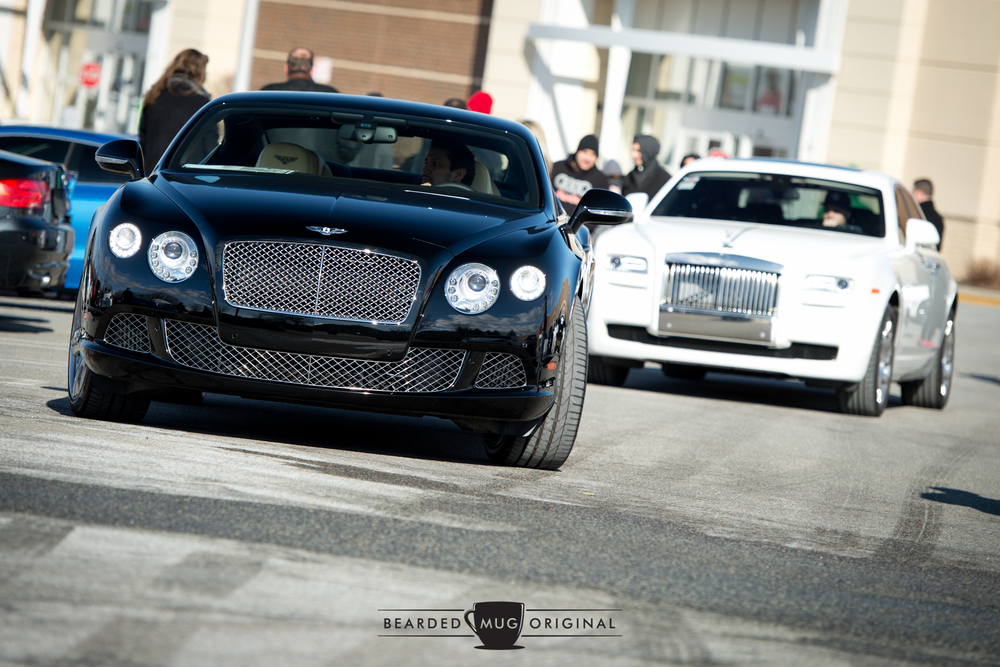 Paul Miller is always good for bringing the best of Britain...including this Bentley Continental GT and Rolls-Royce Ghost.