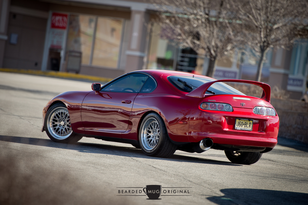 It doesn't get more iconic than the MK4 Supra and that oversized rear wing.