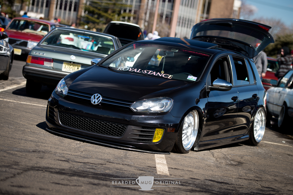 Tuck it low.
