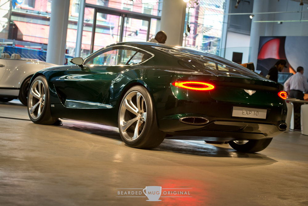 It may just appear to be a fancified Continental, but the EXP 10 concept represents the future of styling for Bentley.