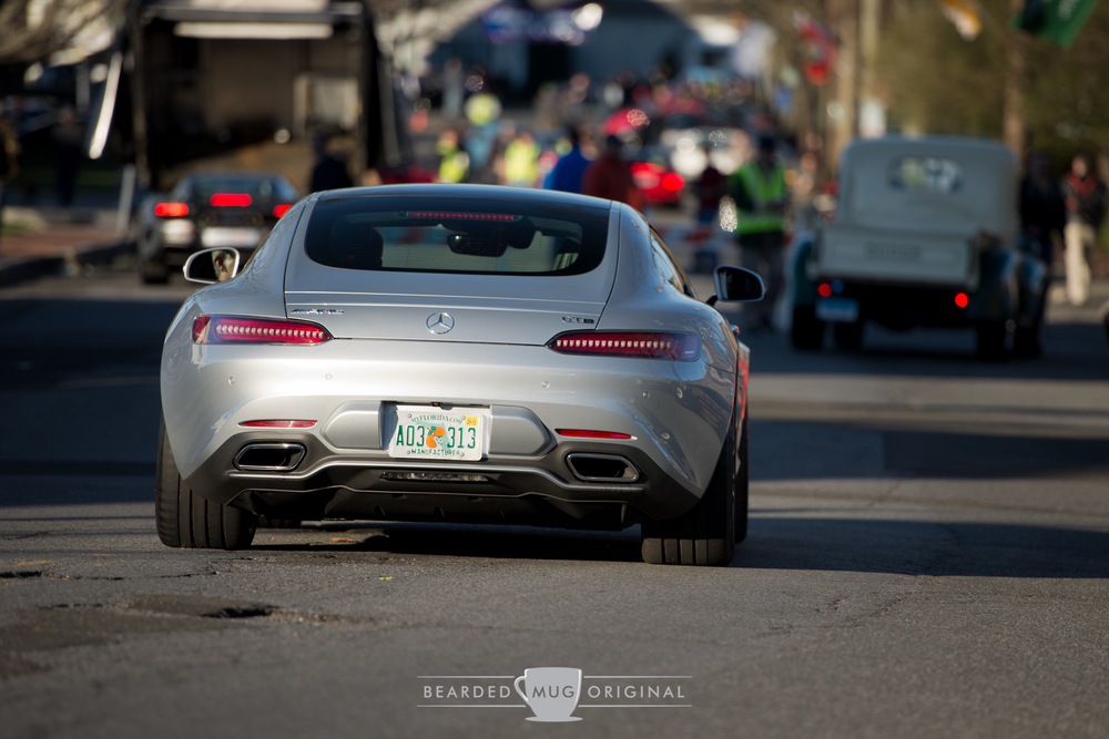 Mercedes-Benz USA  brought out the all-new AMG GT for its first public appearance outside an autoshow venue.