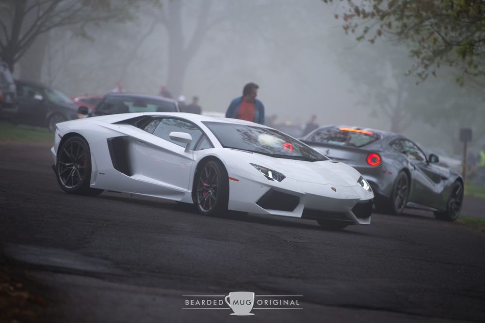 Supercars were coming and going on all fronts and I was doing my best to capture it all.