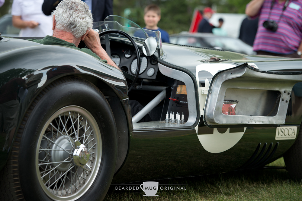 Real deal Jaguar C-Type is all racecar.