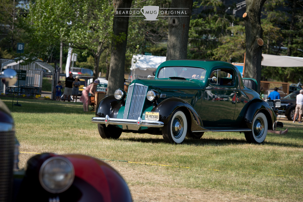 Dan Danielson drove his 1936 Packard all the way from Monmouth County, NJ. Impressive, to say the least.