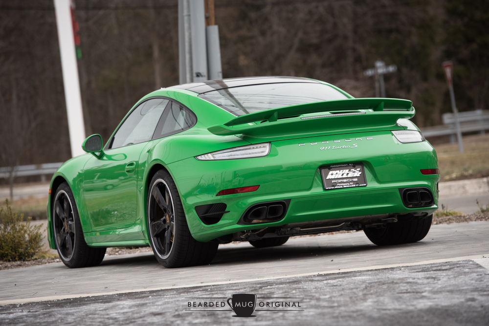 Viper Green is offered through the Paint to Sample program and adds approximately $5,500 to the bottom line.