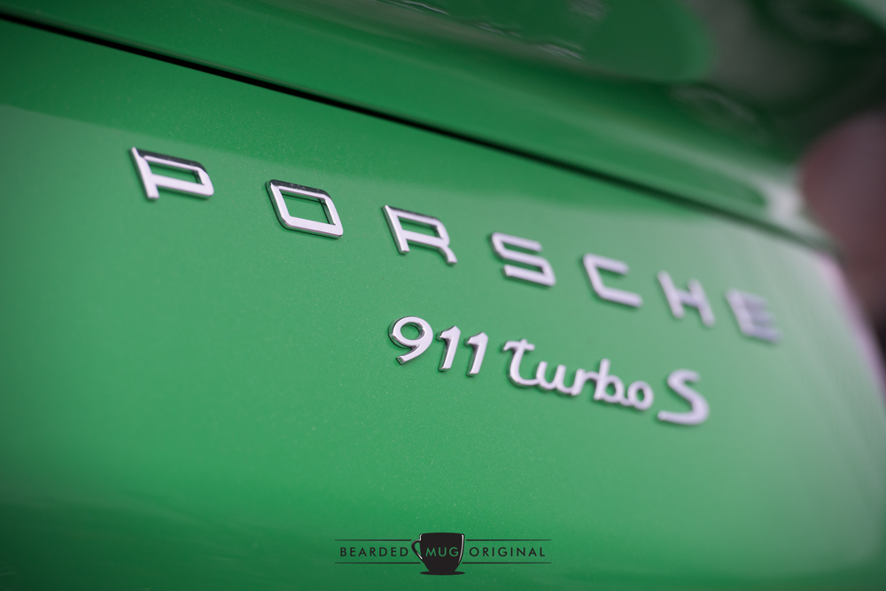 'PORSCHE' across the engine cover is an excellent way to connect to the car's past without invoking too much nostalgia.