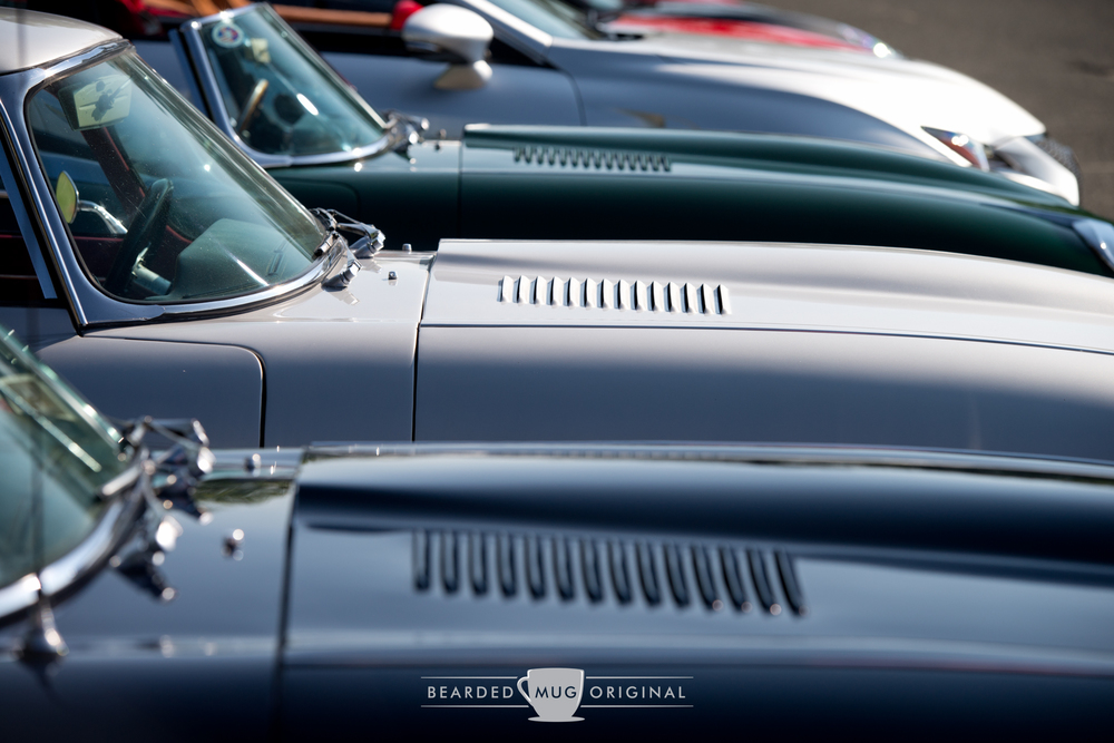 The lines of the E-Type should be studied to further appreciate their beauty.