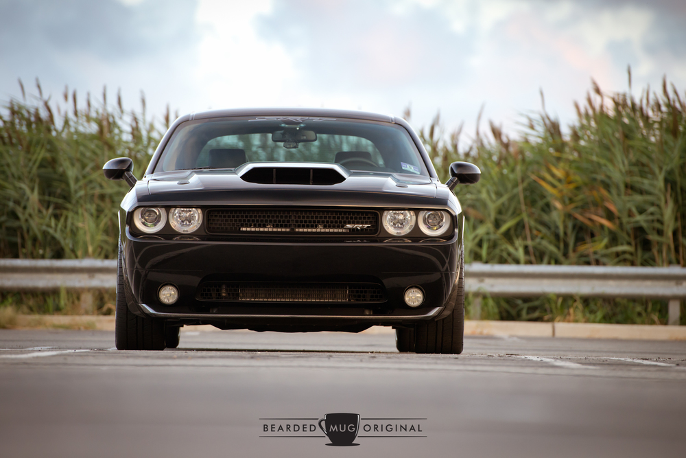Imagine seeing this supercharged modern muscle bearing down on you in your rear view mirror.