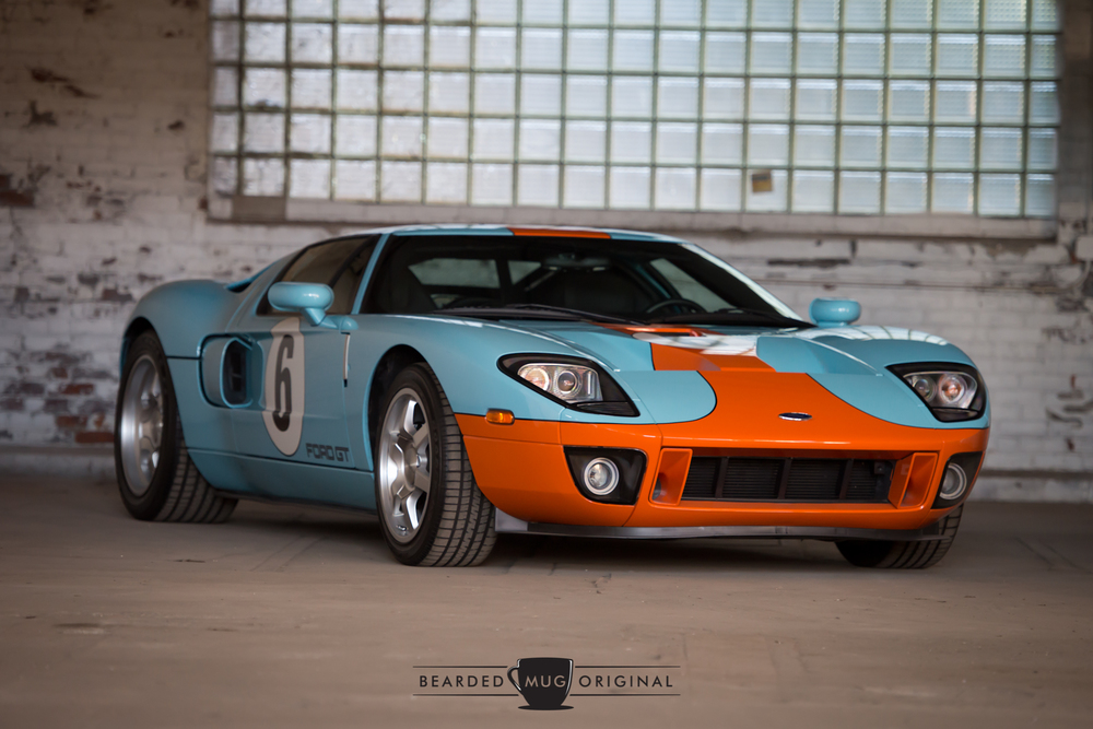 The 2006 Heritage Edition, limited to just 343 units, pays homage to its storied past by wearing a Heritage blue/Epic orange livery reminiscent of the JW Automotive/Gulf Oil car of the LeMans winning GT40.