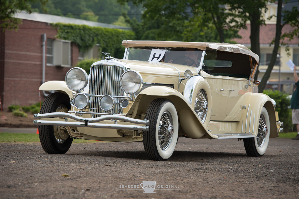 This 1931 Duesenberg Model J Tourster Convertible took home the People's Choice award.