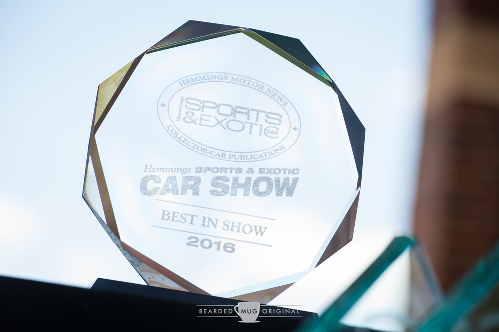 Thank you,  Hemmings Sports & Exotic Car,  for providing Best in Show coverage on a monthly basis.