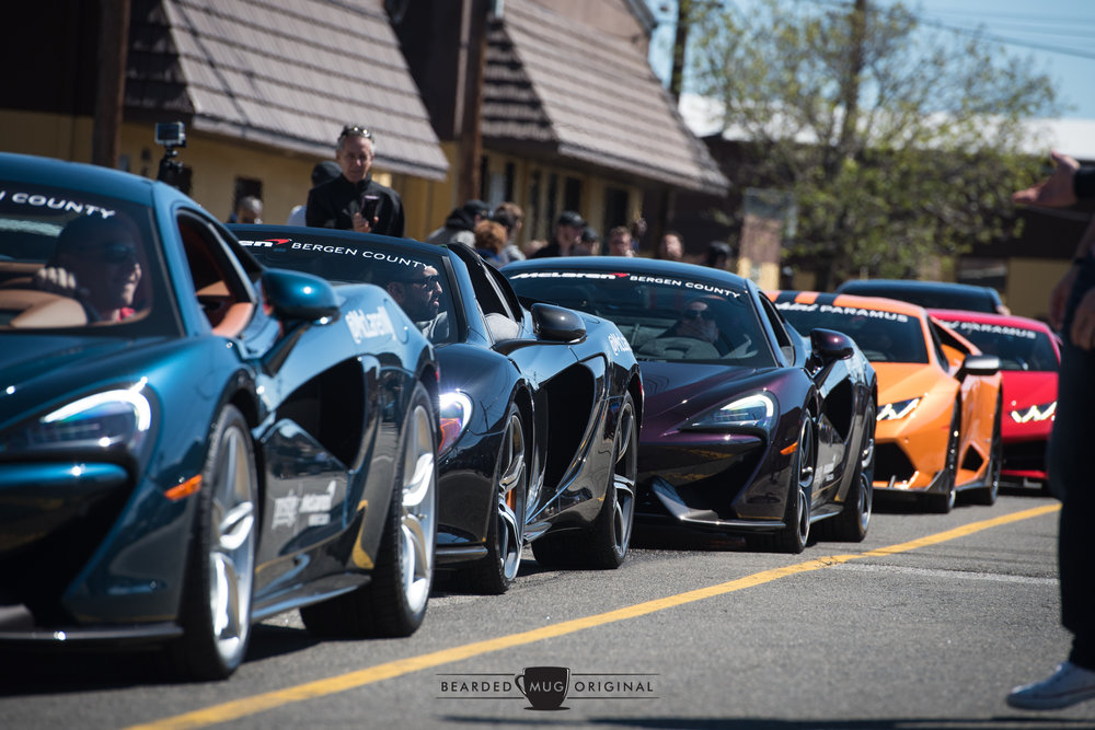 McLaren Bergen County & Lamborghini Paramus, both Prestige dealerships, represented their respective brands proudly.