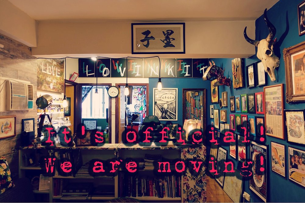 After three years at our current location, we are excited to announce that we are moving. The new location will still be in the same neighbourhood, Sham Shui Po. We love the vibe and heart-warming culture here. It's local and down to earth, not fancy at all, and that's what we believe in at Lovinkit too. A lot of you who heard about it already told us how much you will miss our current shop. Well thank you for your support and love through out the years, but I assure you the new space will still be cozy and professional, only bigger and better. And yes! There will be a re-opening! So come hang out with us on the day. I will post details once we have them confirmed. Much love!   Jayers😘 #lovinkittattoo #moving