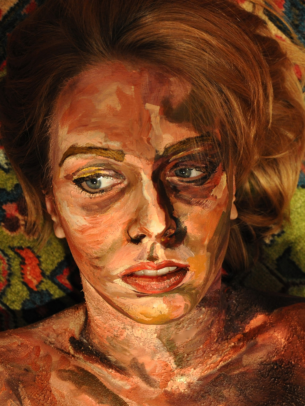 "PORTRAIT OF A SELF-PORTRAIT, 2009 16""x20"", Edition of 7"