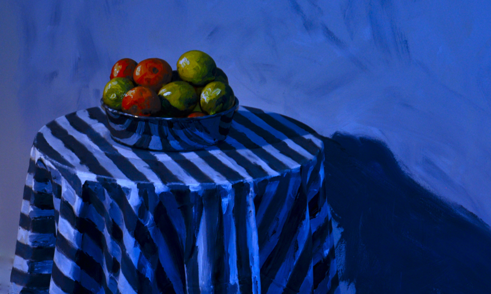 "FRUIT BOWL, 2009 20""x10"", Edition of 7"