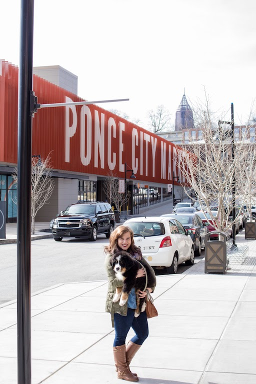 We visited Ponce City Market in ATL -