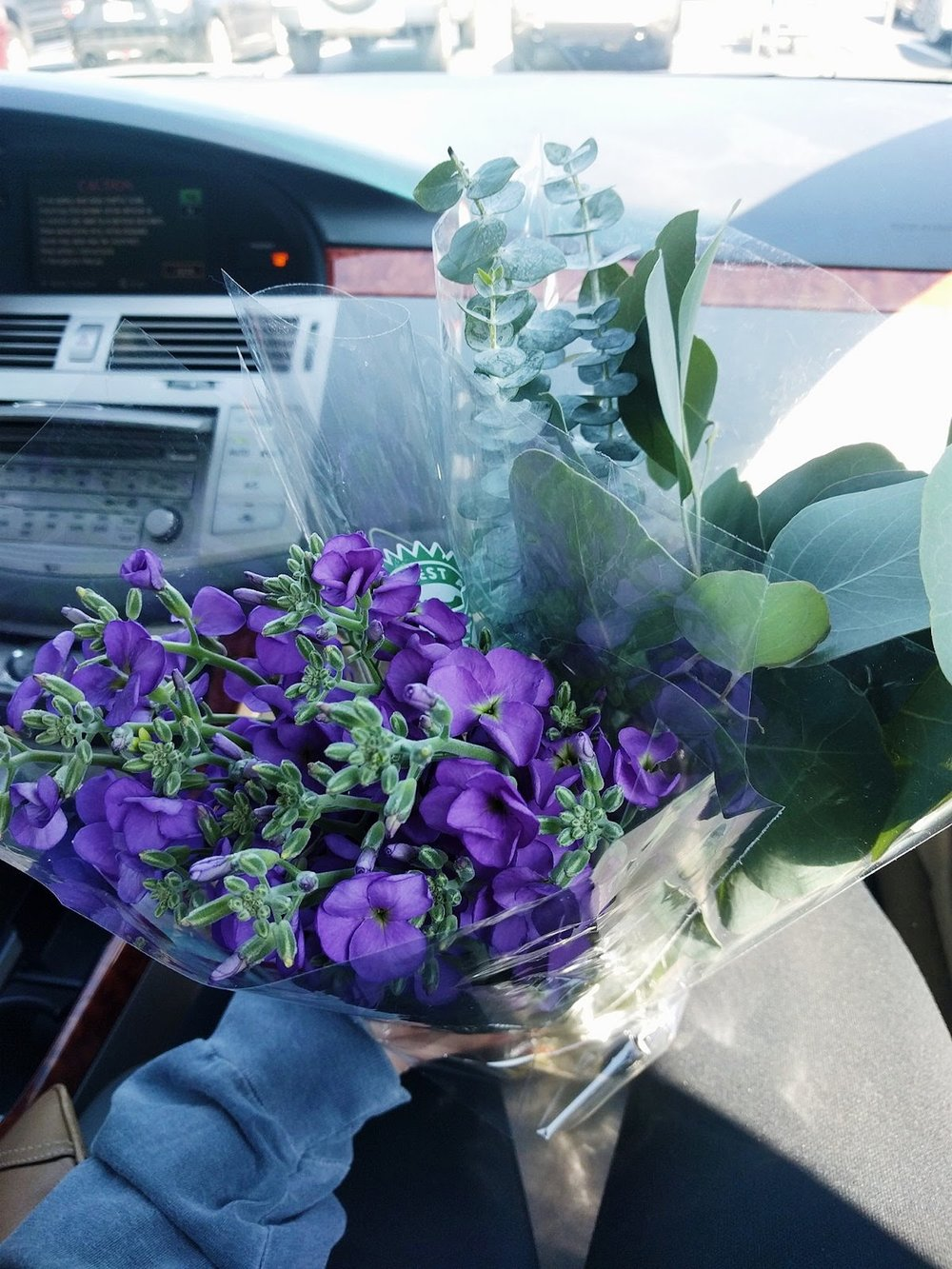 Fresh flowers make the world go 'round.