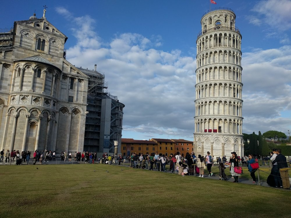 We had less than a day in Pisa, but were so pleasantly surprised at how charming it was!
