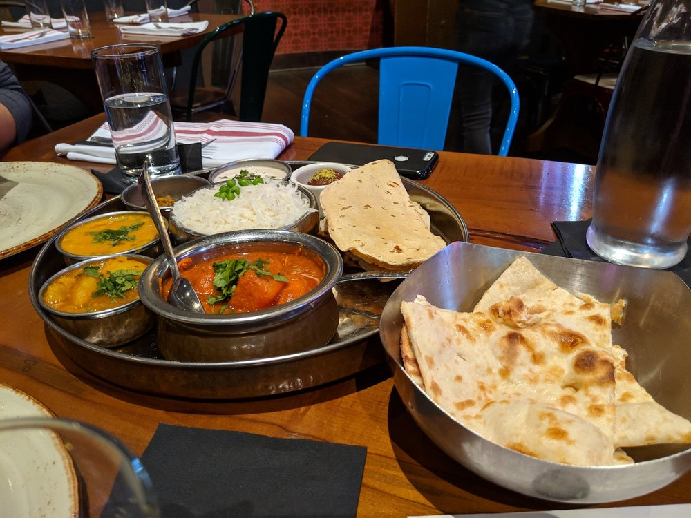 lunch at Chauhan Ale & Masala House