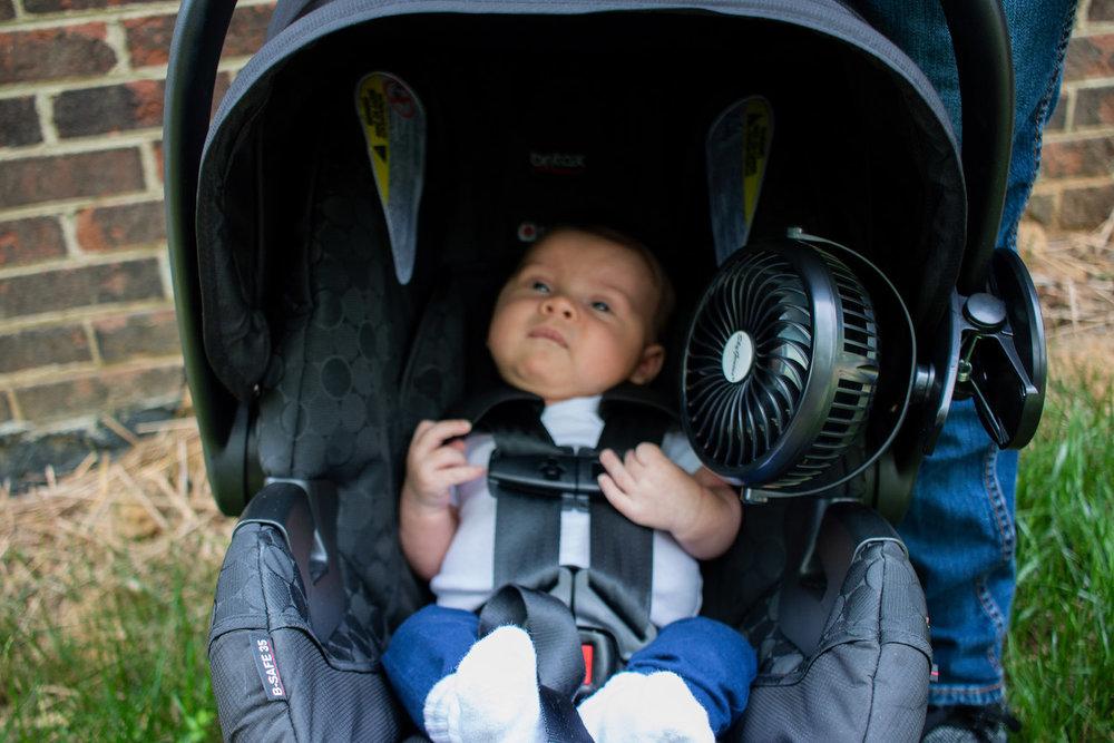 carseat fan