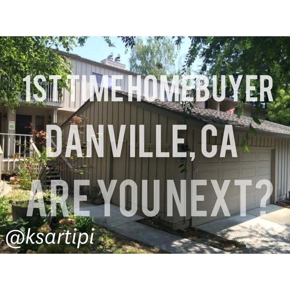 Excited for my client who purchased his first home. A completely remodeled townhouse in Danville, CA. All he had to do was move his furniture in. #DanvilleCA #RealEstate #Mortgage