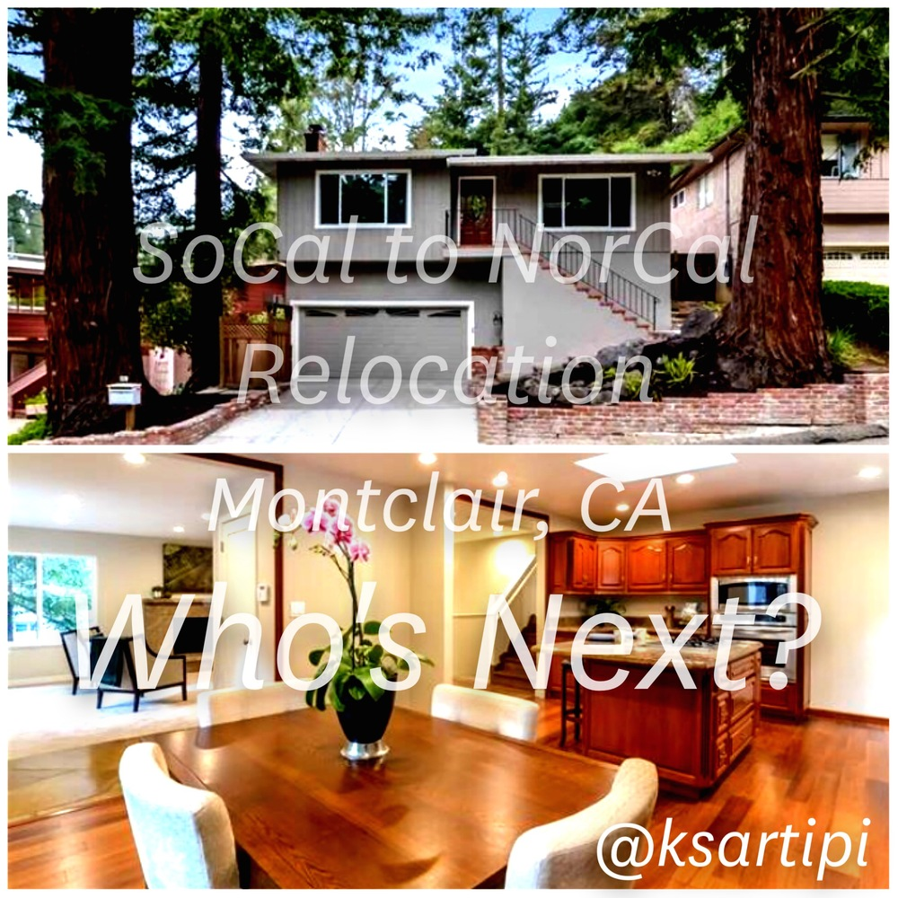 Excited for my client who recently closed on her new home in the Montclair neighborhood in Oakland. She recently relocated from Southern California and is very excited to plant her roots in Northern California. #RealEstate #Mortgage #Montclair #Oakland #MasonMcDuffieMortgage #HomeLoans #DanvilleCA