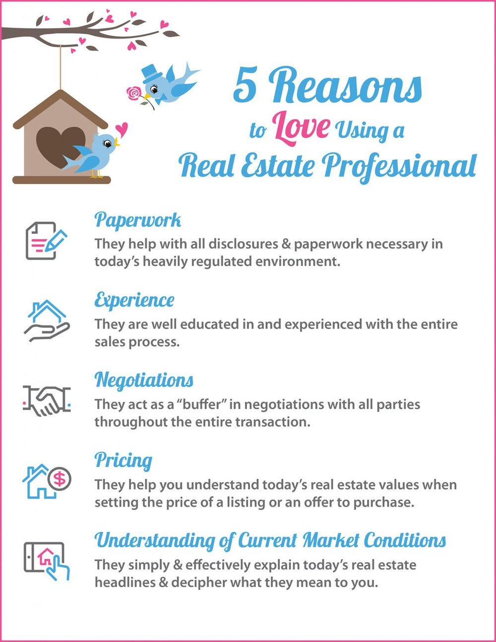Highlights: Hiring a real estate professional to guide you through the process of buying a home or selling your house can be one of the best decisions you make! They are there for you to help with paperwork, explaining the process, negotiations, and helping you with pricing (both when making an offer or setting the right price for your home). One of the top reasons to hire a real estate professional is their understanding of your local market and how the conditions in your neighborhood will impact your experience. If you would like to get connected with a great real estate agent, please fill out the form below. We work with many great agents all over California and would be happy to introduce you to one.