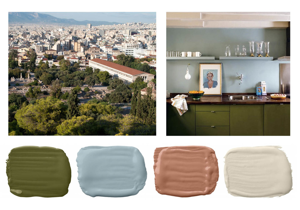 Ancient Greek Paint Palette Louisiana Interior Design Niki Antique Greece To Color