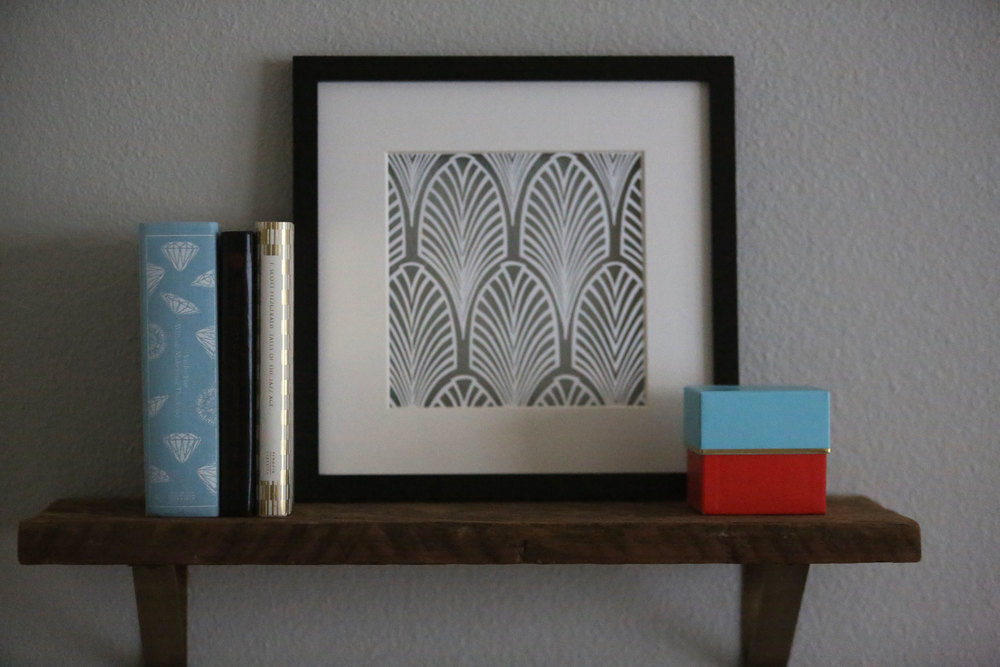 Copy of DECO FAN PATTERN   Papercut Art
