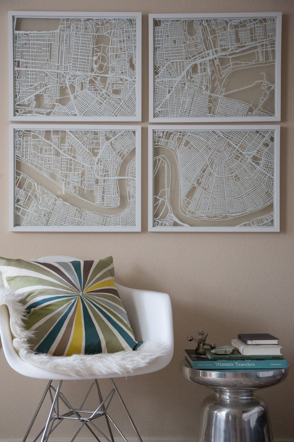 NEW ORLEANS MAP | Custom Papercut