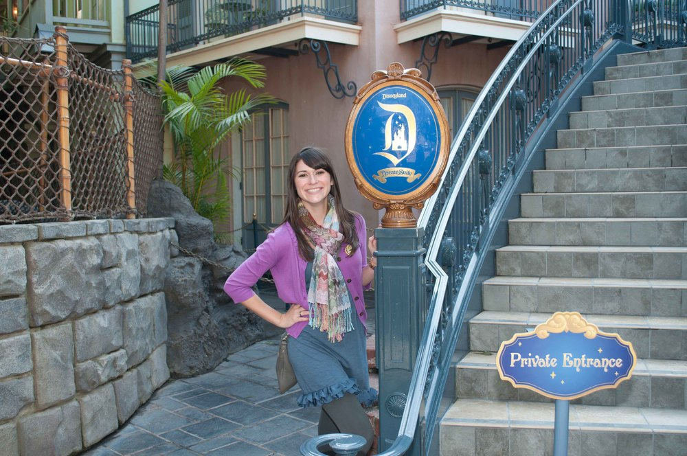 Disney Suite Entrance