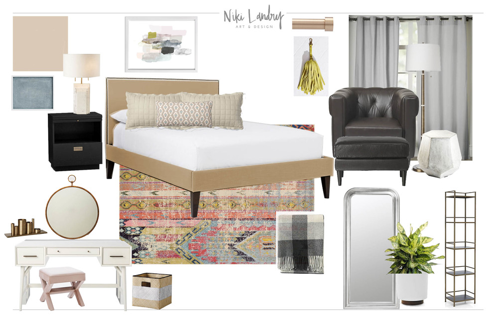 Master Bedroom Design Board