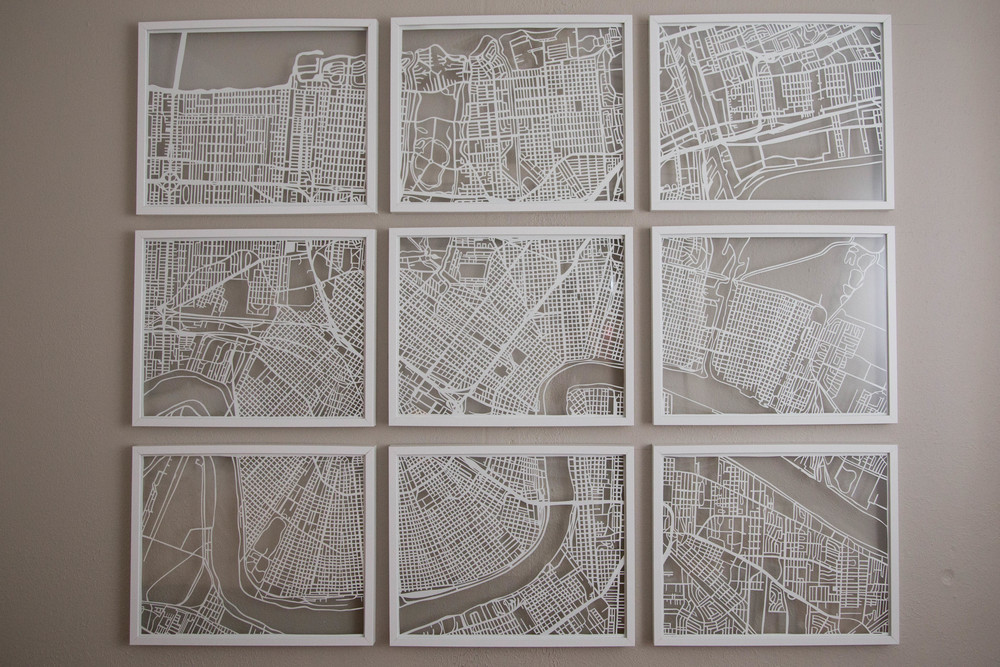 Copy of GREATER NEW ORLEANS   Papercut Artwork