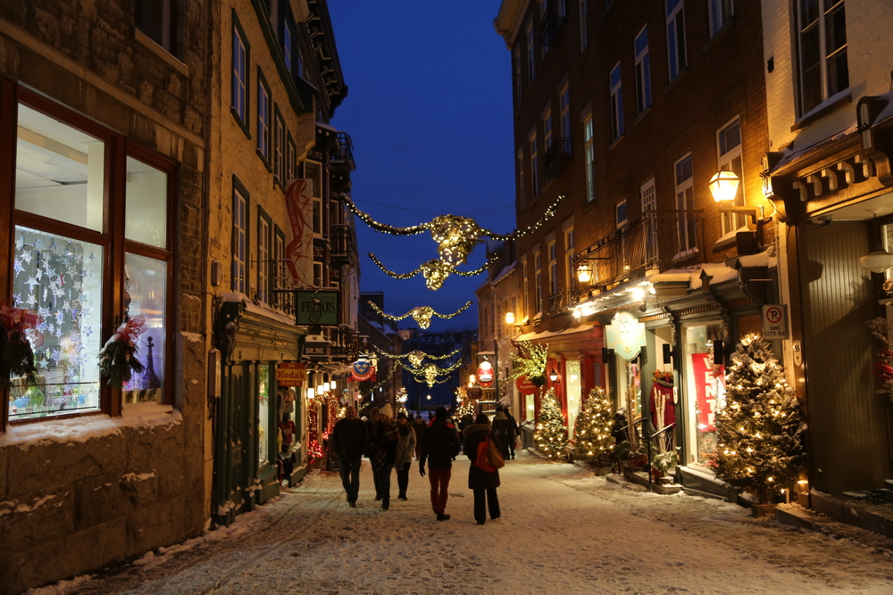 Old Quebec Street | Winter Travel