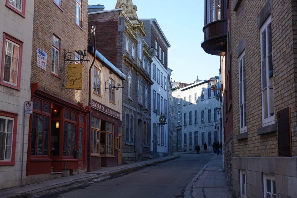 Quebec City Before the Snow