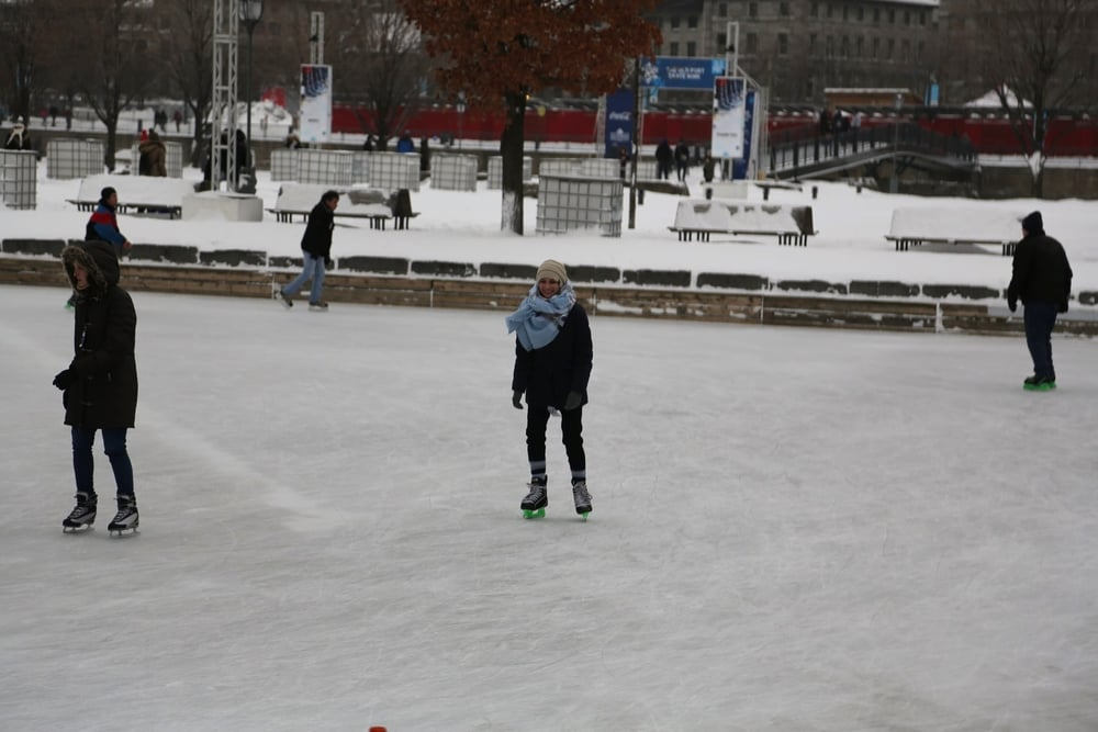 Montreal Ice Skating