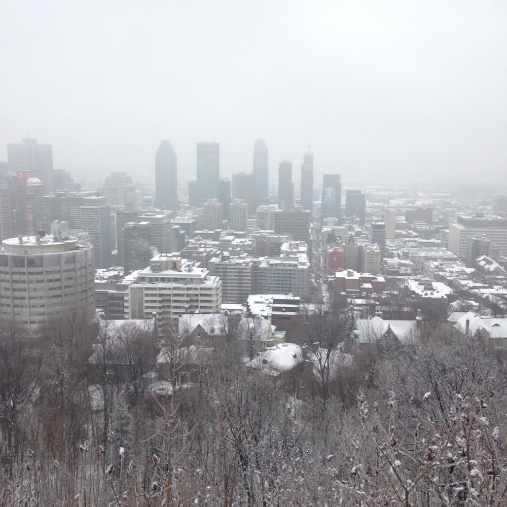 Mont Royal- Montreal, Canada