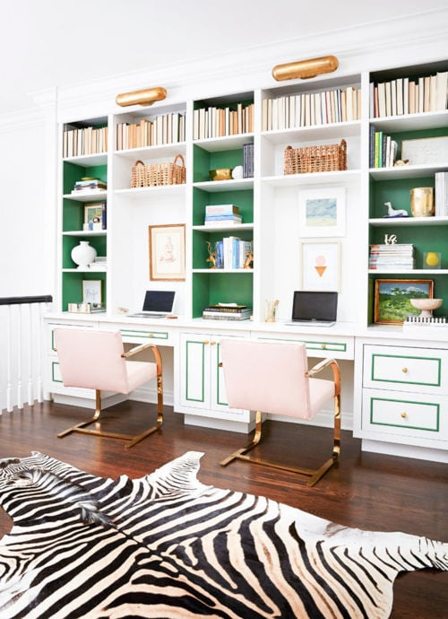 Preppy Office Inspiration