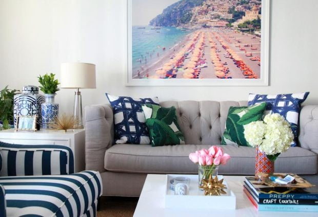 Preppy Bedroom Inspiration · Colorful Living Room Inspiration