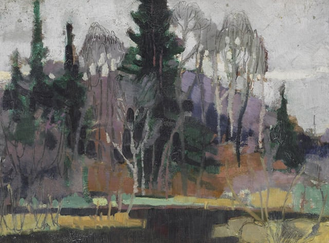 Landscape by Montreal Artist Anne Savage