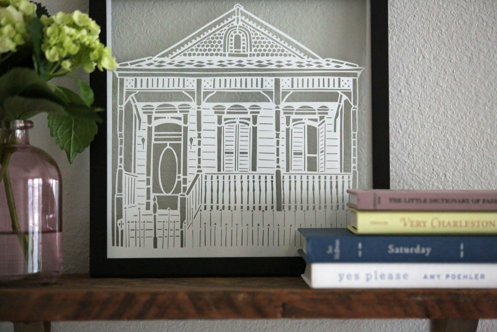 Sweet Shotgun | Paper Cut Art